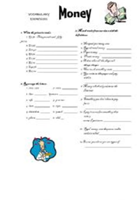 teaching worksheets general vocabulary