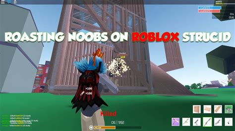 roasting noobs  strucid roblox gameplay  pro player