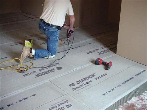 usg durock  gen cement board remodeling