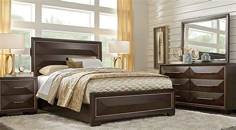 sofia vergara bedroom furniture sofia vergara cambrian court chocolate 7 pc king panel