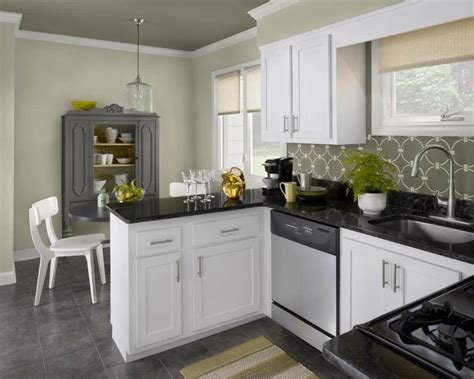 luxury kitchen  white color cabinets home