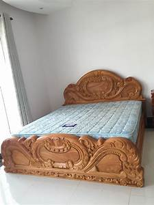 Khmer Solid Wood Bed