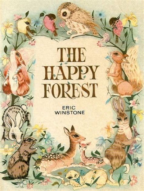 awesome vintage forest animal childrens book illustration