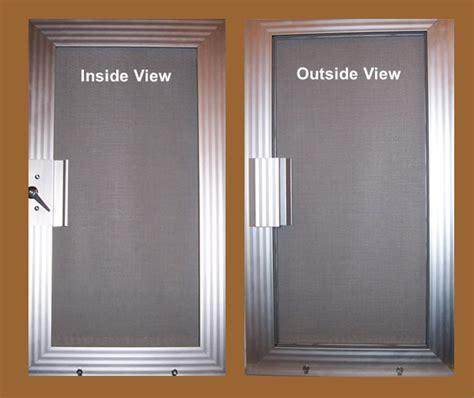security screen doors metal security sliding retractable
