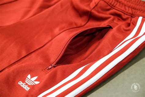 Adidas Beckenbauer Trackpants Rust Redwhite Cw1270