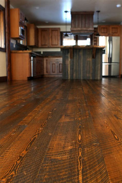 wide plank wood flooring  excellent choice