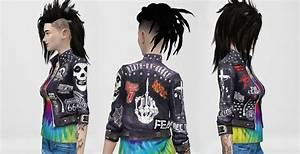 Sims 4 - Rock Jacket - AnnArchy Sims