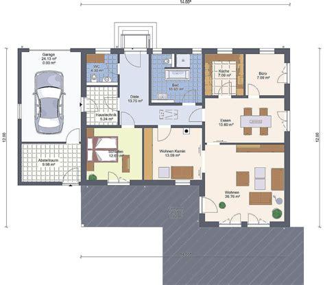 Bungalow Garage Grundrisse by ᐅ Bungalow 126 Mit Garage