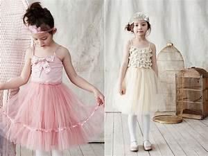 tulle flower girl dresses romantic wedding style onewedcom With flower girl wedding dresses