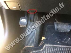 Obd2 Connector Location In Dodge Charger 7  2011
