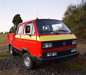 1990 Volkswagen Vw Tristar Syncro Doka T3 Double Cab Truck
