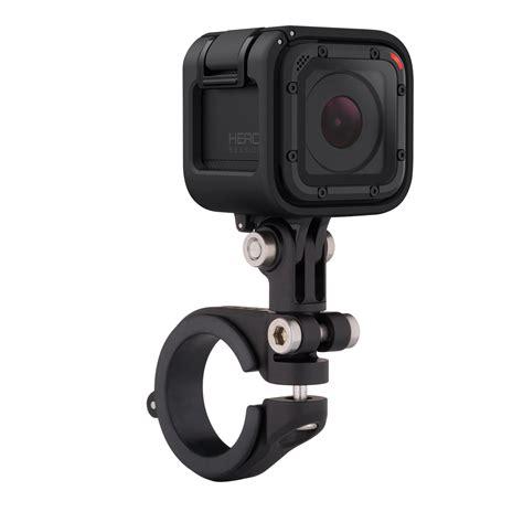 amazoncom gopro camera handlebarseatpostpole mount black amhsm  camera photo