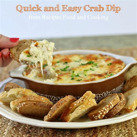 dips cuisine easy and crab dip recipes food and cooking