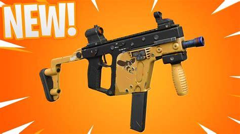 hornet submachine gun gameplay  fortnite