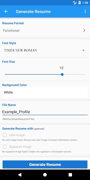 smart resume builder  cv maker templates apps
