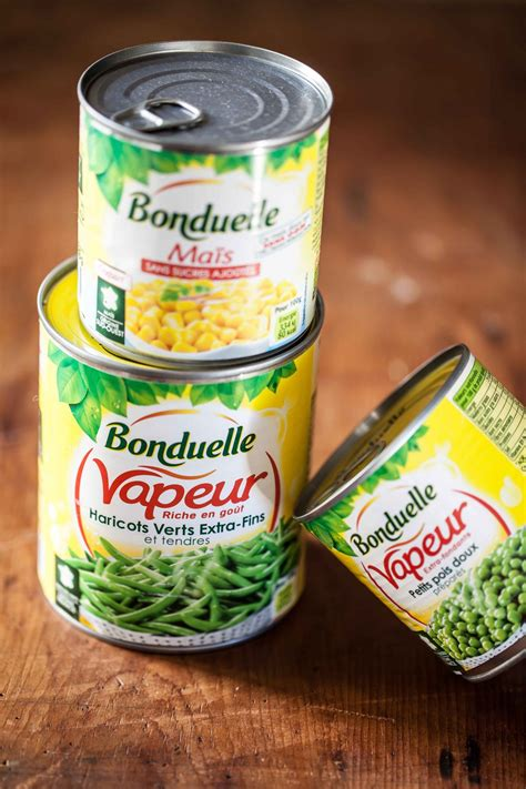 cuisiner des haricots beurre bonduelle les légumes du ch sont dans la boîte