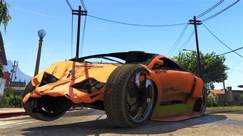 Gta Iv Vehicle Damage Handling Deformation