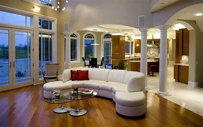 Living Rooms Nice Luxury Interior Mansion Wallpapers
