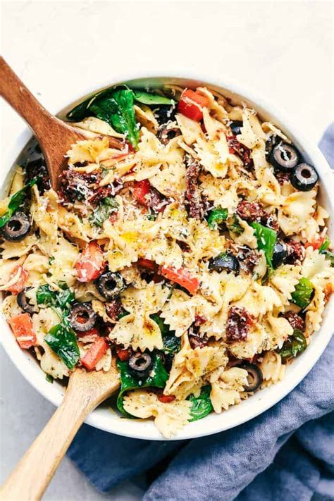 Pasta salads are simple to prepare, delicious and as diverse as you want them to be. The Absolute Best Pasta Salad Recipes - Princess Pinky Girl