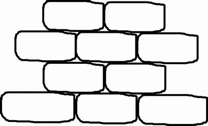 Brick Wall Clip Printable Template Pattern Paper