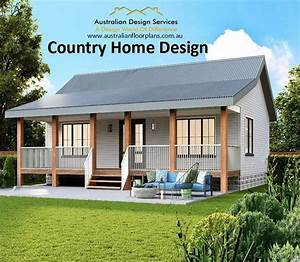 Small, Home, Design, Country, Cottage, 2, Bed, House, Plans, For