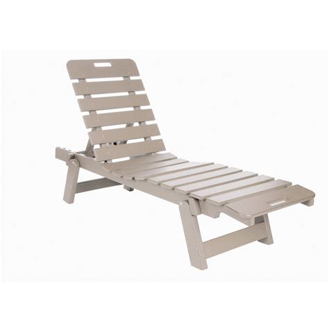 eagle one caf 233 commercial grade chaise lounge driftwood