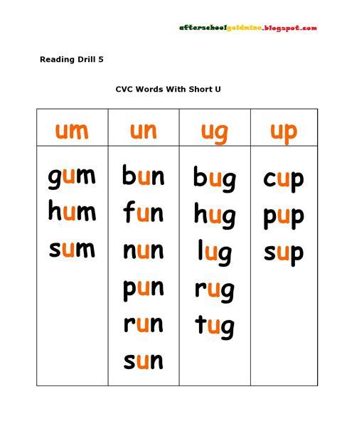 reading cvc short   images cvc words phonics