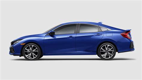 honda civic images 2018 honda civic si sedan coupe coming with a 205hp 1 5l