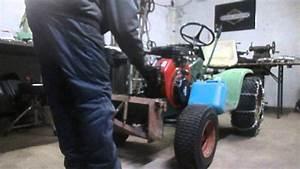 09 02 2015 - John Deere 110 Engine Swap