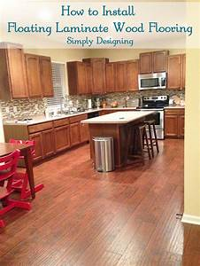 How to install floating wood laminate flooring part 1 for How long does it take to install hardwood floors