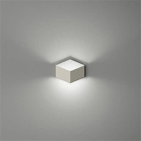soft and chic white metal cube designer wall light in
