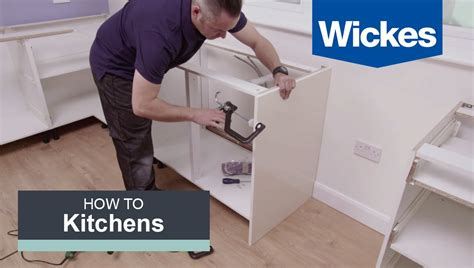 how to install wall kitchen cabinets how to install base cabinets with wickes 8722