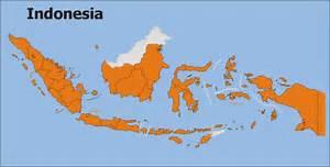 Map_Indonesia_Plain Indonesia