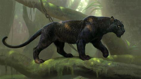 Pantera Animal Wallpaper - black panther digital wallpapers hd desktop and