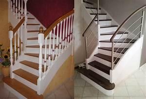 Avant Aprs Escalier Et Sa Rambarde Sur Mesure Par Divinox