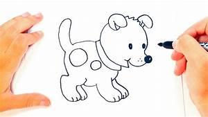 Cómo dibujar un Perrito paso a paso | Dibujo fácil de ...