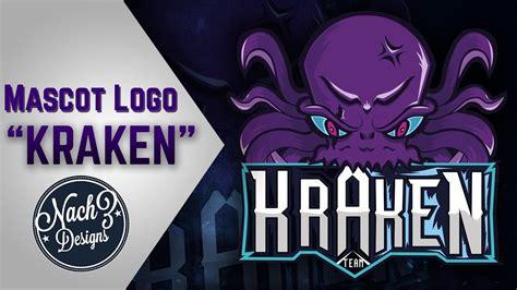 [speedart #1] Kraken Mascot Logo (e-sports)