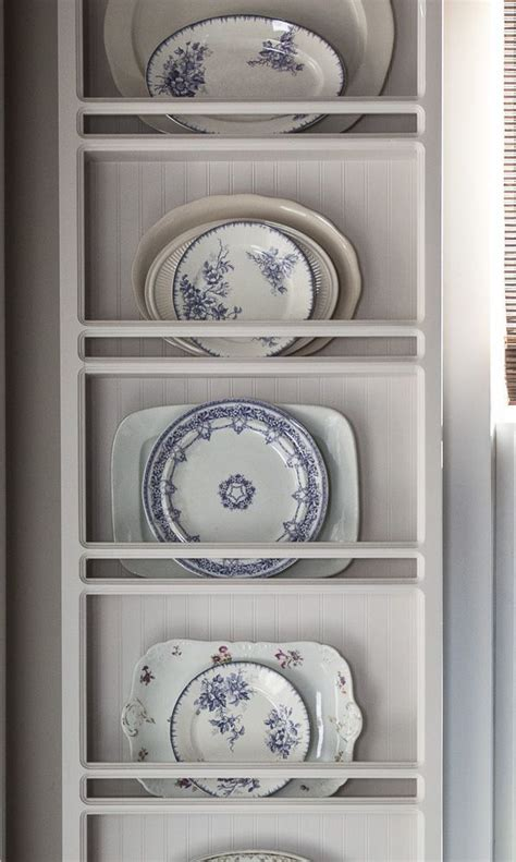 adding  color   year plate racks decorating  house