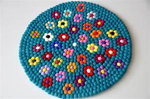 sentait balle tapis du nepal 100 laine sentait balle With faire un tapis en boule de feutre