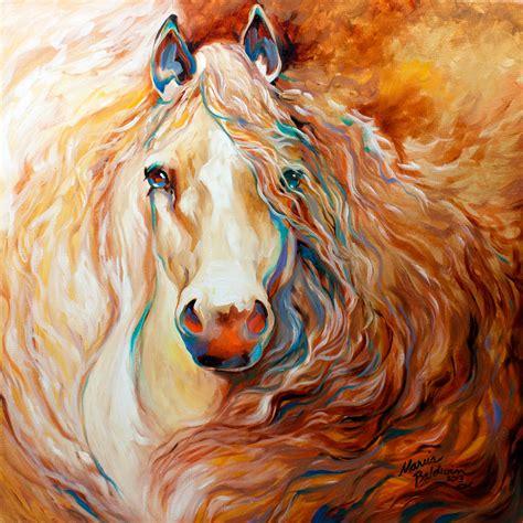 Buckskin Mustang Stallion Horse