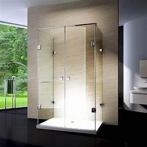 Duschkabine Komplett Günstig : duschkabine u form 8 mm nano echtglas ex412 120 x 90 x 195 cm inkl duschtasse badewelt ~ Indierocktalk.com Haus und Dekorationen