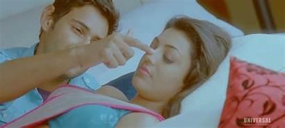 Kajal Agarwal Gifs Romance Lipkiss Actress Indian