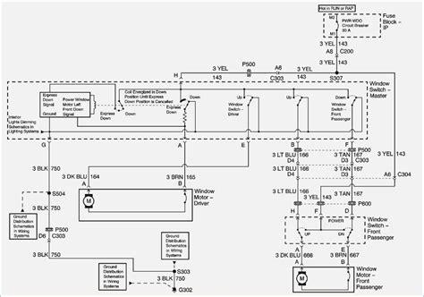 2000 chevy express 2500 power window wiring diagram