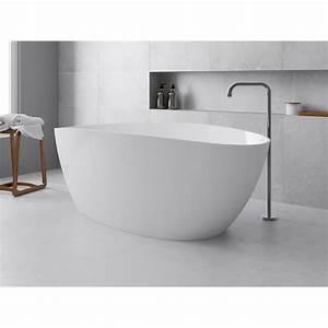 Rideau De Baignoire Leroy Merlin : baignoire lot ovale cm blanc brillant stori ~ Dailycaller-alerts.com Idées de Décoration