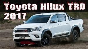 Toyota Hilux 2017 : 2017 toyota hilux trd pack special edition youtube ~ Medecine-chirurgie-esthetiques.com Avis de Voitures