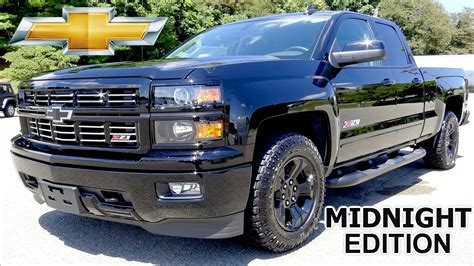 2015 MIDNIGHT EDITION Silverado 1500 Z71 2LT Review and