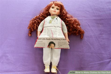 how to make doll clothes 4 ways to make clothes for your doll wikihow