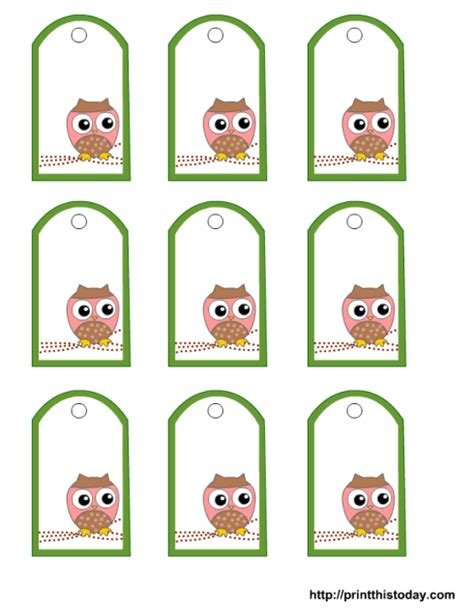 Printable elephant baby shower tags stickers cupcake #285863. baby shower favor tags free printable | Owl baby shower ...