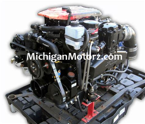 mercruiser  mpi alpha complete engine michigan motorz