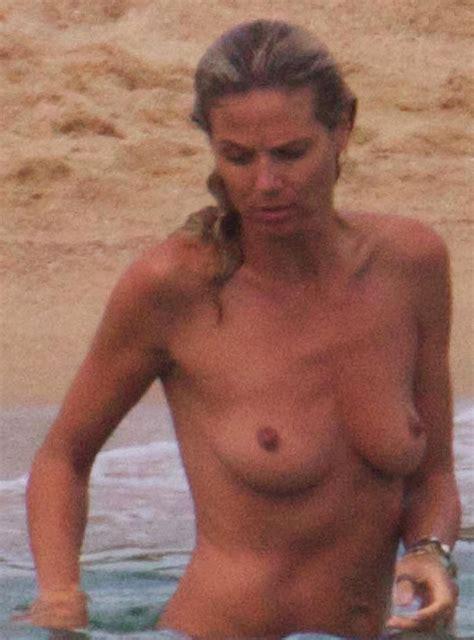 Heidi Klum Bares Her Nipples Gossipmad